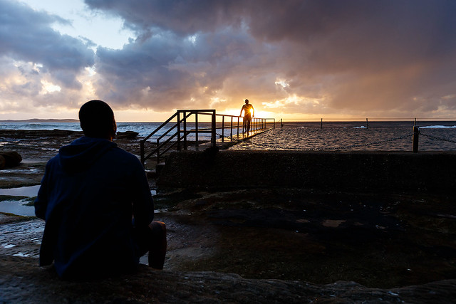 Cronulla Rockpool Sunrise Photoshoot