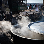 IOM Djibouti - The large pot for preparing lunch