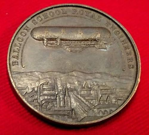 Baloon School medal reverse   by Numismatic Bibliomania Society