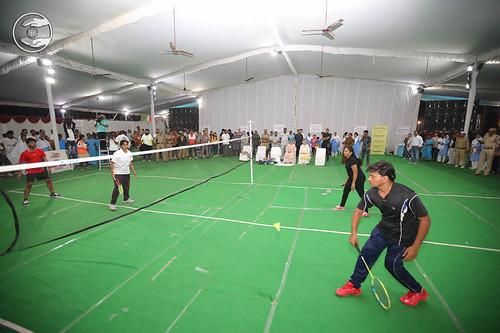 Blessings by Satguru Mata Ji at Badminton Ground