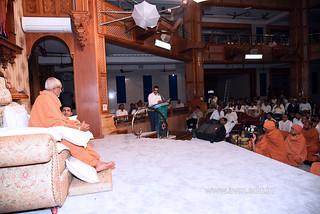 Std-10-11-12-visit-to-Haridham-for-Swamishree's-Blessings-(25) | by Atmiya Vidya Mandir
