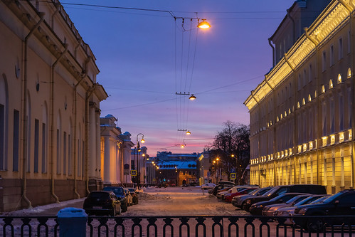 landscape winter nature saintpetersburg city outdoor town snow morning blue colorful old purple sunrise russia design style cityscape architecture yellow frost sky landscapes outdoors russian leningradoblast ru
