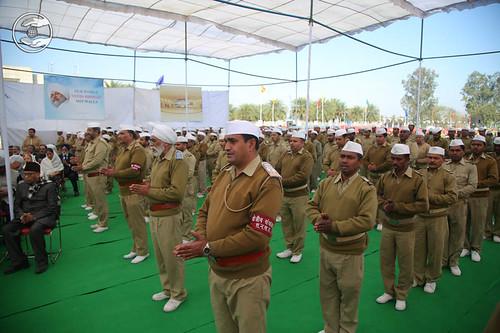 Prarthana by Sewa Dal volunteers