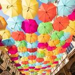 Parapluies/Umbrellas @ Le Village Royal / Cité Berryer
