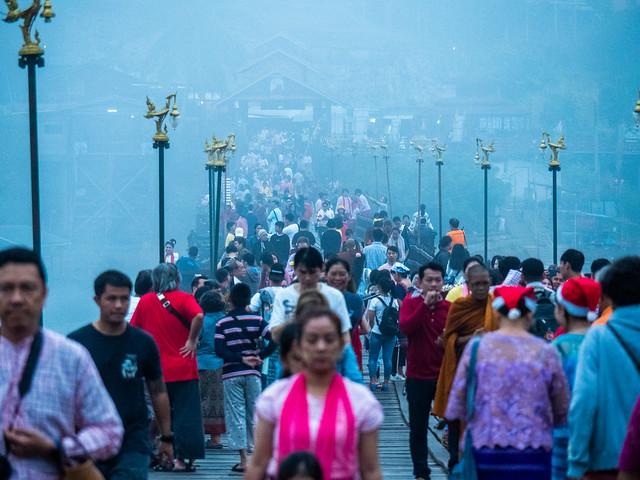 Uttamanusorn Bridge, Kanchanaburi