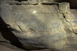 Panel, Painted light, Unnamed Cave 61