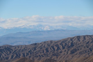 0641 Zoomed-in view of cloud-shrouded Mount Whitney (left of center) and Mount Langley (left) | by _JFR_
