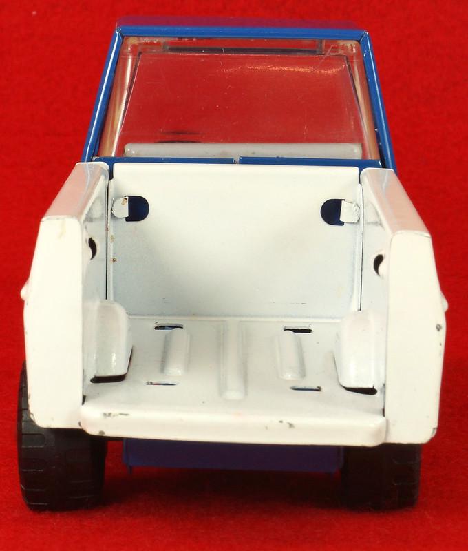 RD26760 Very Rare Fleet Truck CK Kuramochi & Co. , LTD. Japan Blue Cab White Bed DSC09031