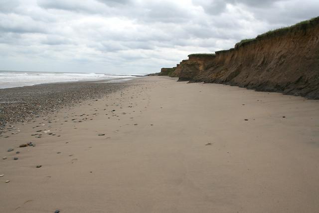 The coast near Skipsea