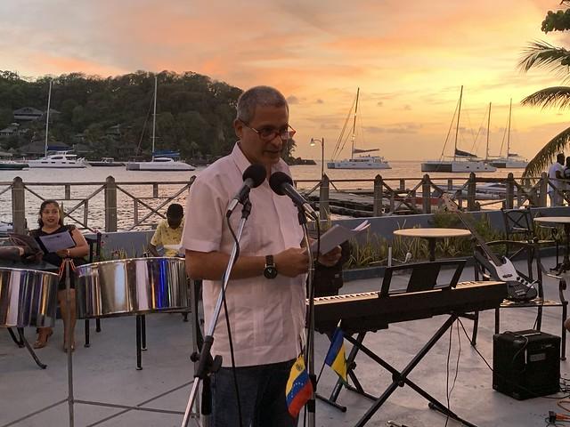 Canto poético desde San Vicente y Las Granadinas en solidaridad con el pueblo venezolano reivindica la lucha de las mujeres