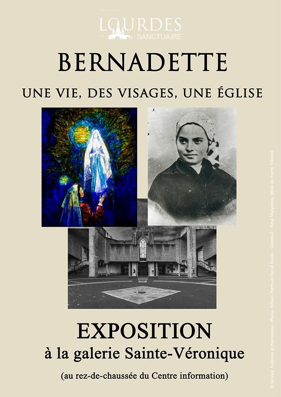 Exposition Bernadette galerie Sainte-Veronique