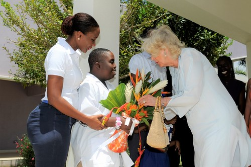 The Duchess of Cornwall visits The Derrick Smith School & Vocational Centre (4) | by barbadosgovernmentinformationservice