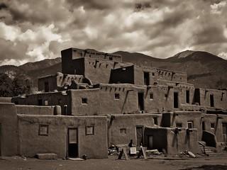 Taos Pueblo   by Jim Nix / Nomadic Pursuits