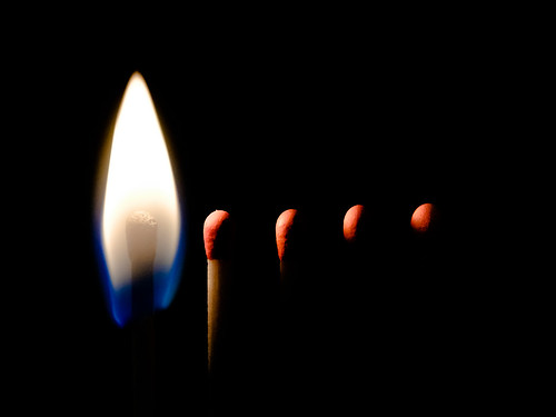 >> Match...the fire is coming... << Reloaded Oid concept, re-work | by der LichtKlicker