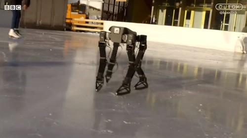 Робот учится кататься на коньках | by beautynext