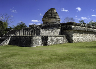 The Observatory at Chichen Itza (El Caracol) | by T. Christensen