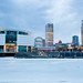 Icy Milwaukee Lakefront Skyline