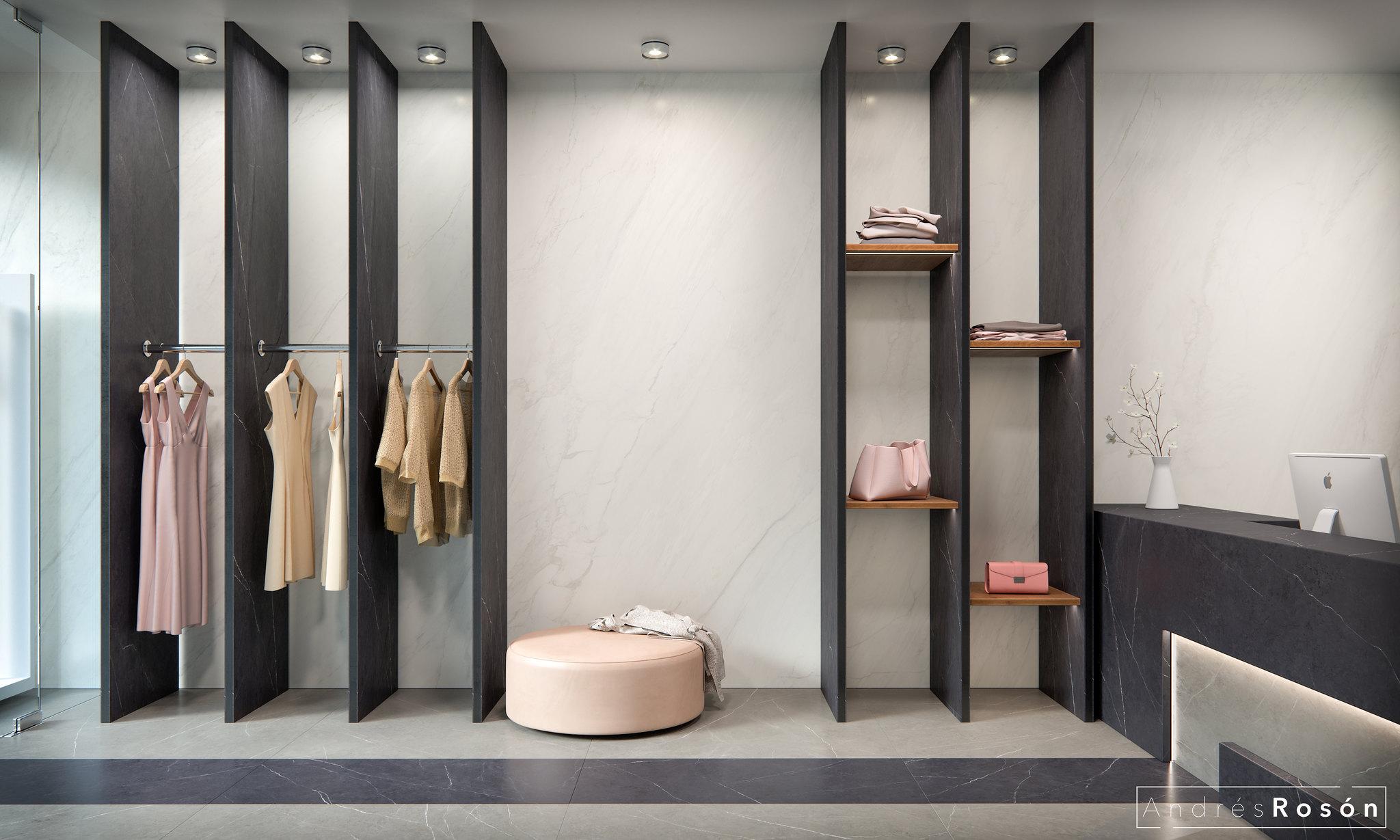 Clothing Store_CGI/Porcelanosa Group