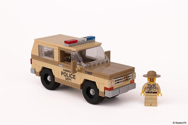 Sheriff Hopper's Chevrolet Blazer K5