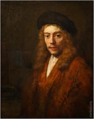 A Young man, perhaps the Artist's Son Titus | Rembrandt