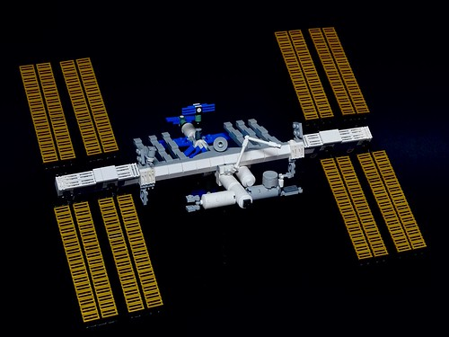 International Space Station LEGO Model 1:250 Scale | by LuisPG2015