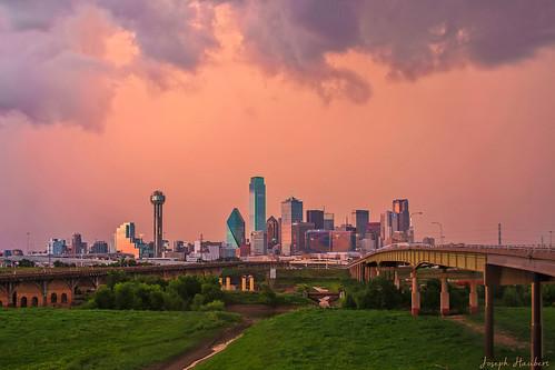 Dallas Pink Storm Haze
