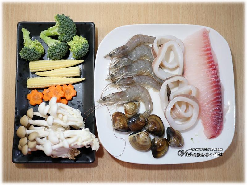 薑黃雞湯蒸海鮮017