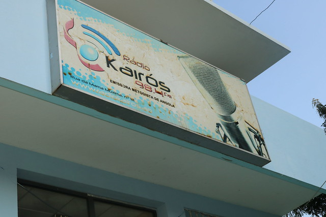 Tour of Radio Kairos Luanda, Angola