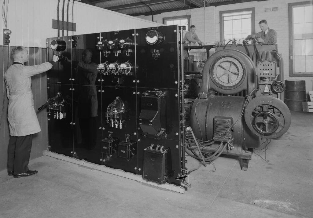 AWA radio-electric works at Ashfield, Sydney, approximately 1937, 3