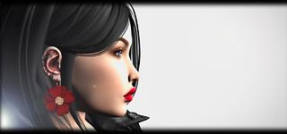 MINIMAL - Flower Earrings GACHA | by Elaine Lectar
