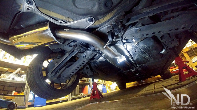 "Volvo S80 2.4T Rakaror 3"" Stainless Resonated Catback"