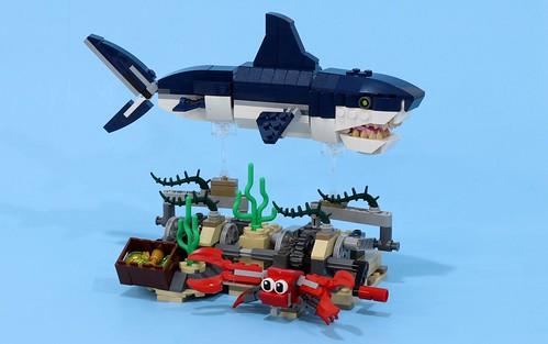 Swimming Shark Redux