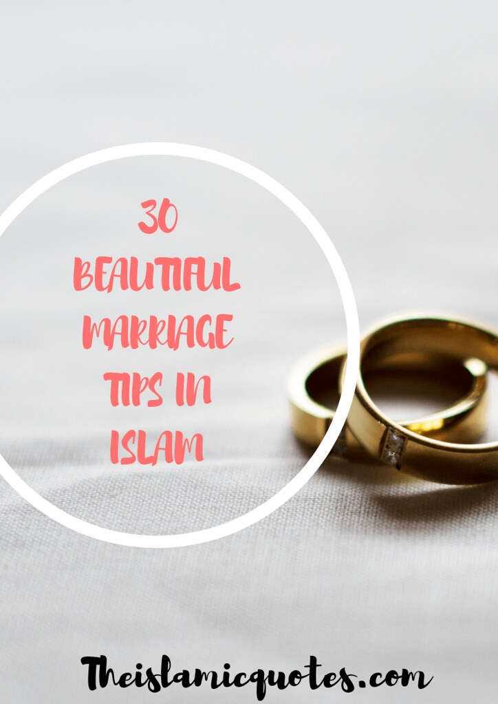 Marriage tips in islam