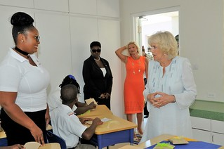 The Duchess of Cornwall visits The Derrick Smith School & Vocational Centre (11) | by barbadosgovernmentinformationservice