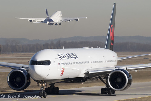 C-FITU Boeing 777-300ER Air Canada Munich airport EDDM 08.02-19 | by rjonsen