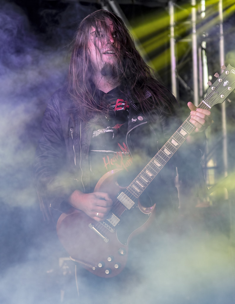 Necroskull of Witchsorrow @ 2016 Metal Brew Festival