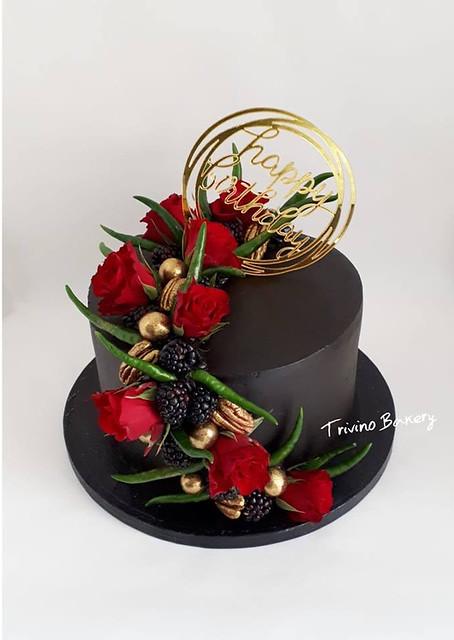 Cake by Rasa Lopez Triviño of Trivino Bakery