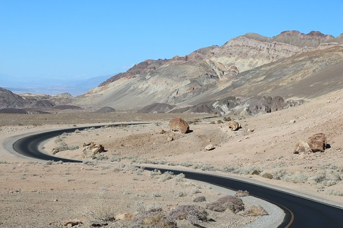 0195 Curving roadway on Artists Drive in Death Valley | by _JFR_