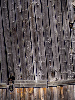 The side of an old barn | by Raoul Pop