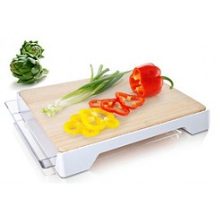 vacuvin cutting board tray