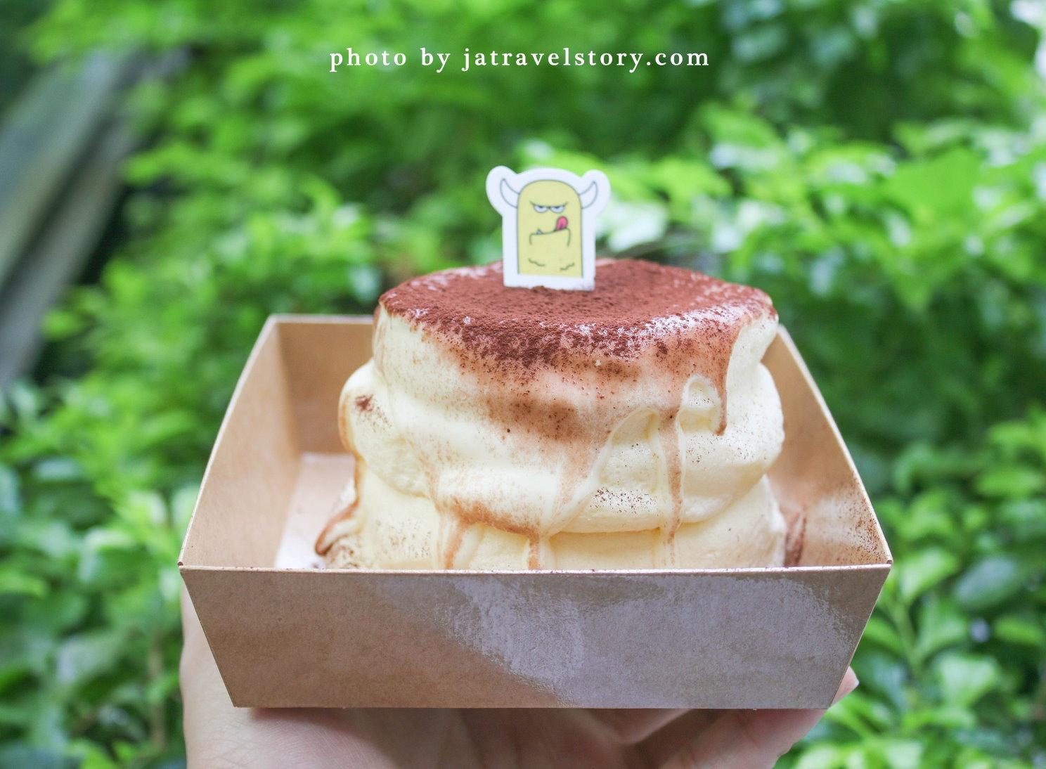 怪舒芙Monster Souffle 舒芙蕾鬆餅100元就吃的到,蓬鬆入口即化!【捷運公館】公館美食/台大美食 @J&A的旅行