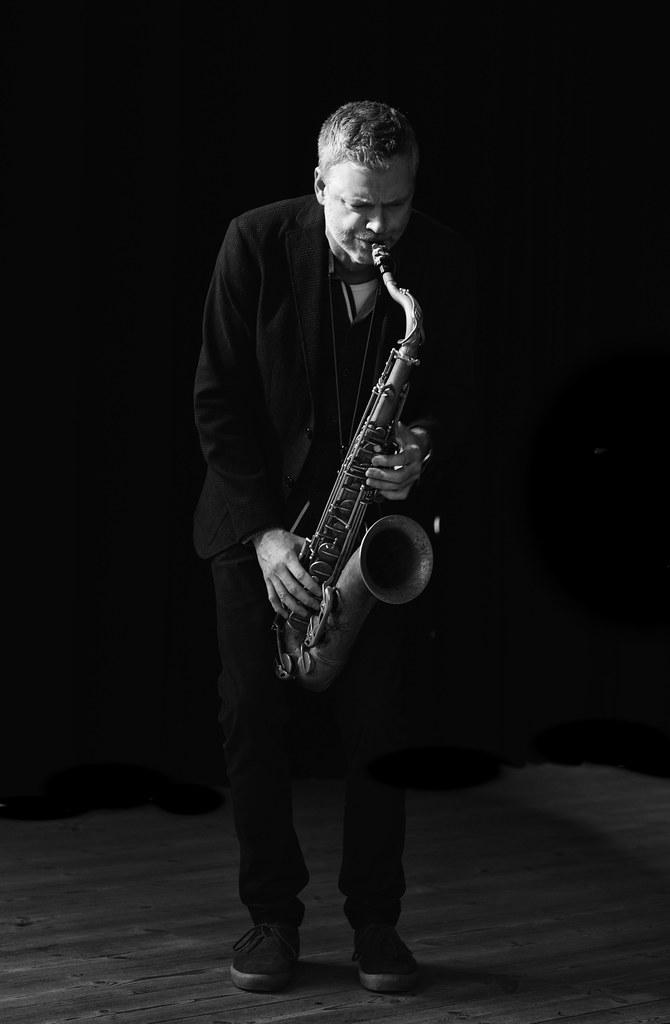 Claus Waidtløw, sax in the danish jazztrio