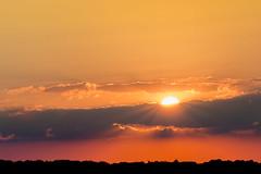 zonsondergang  Saarburg