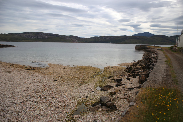 Portnancon with Loch Eriboll beyond