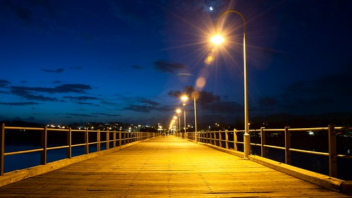 bluehour landscape coffsharbour jetty pier sunset