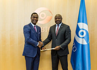Presentation of Credentials by Ghana | by The Official CTBTO Photostream
