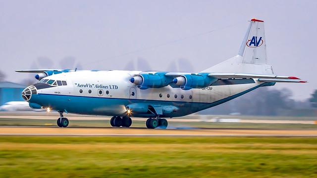 Antonov An-12 UR-CBF Aerovis Airlines