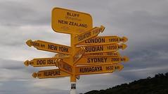 Stirling Point, Bluff, NZ