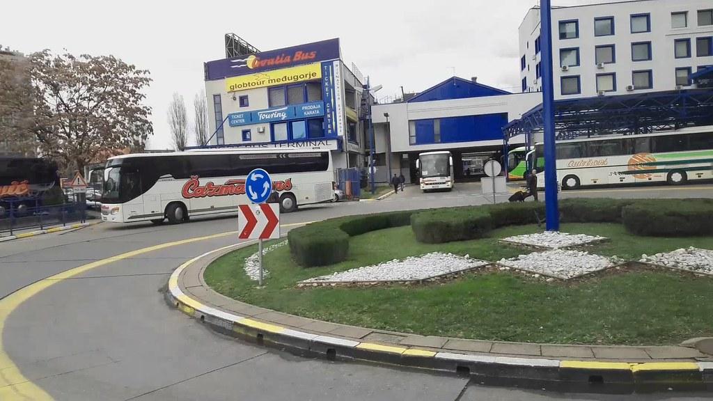 Zagreb Main Bus Station Autobusni Kolodvor Zagreb Flickr
