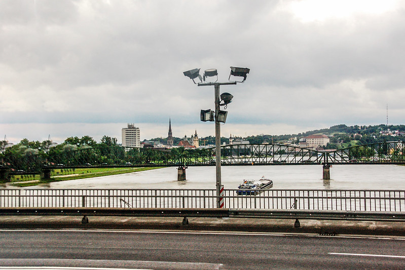The Danube in Linz
